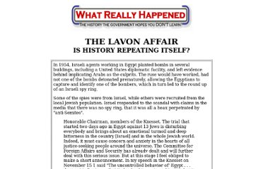 http://whatreallyhappened.com/WRHARTICLES/lavon.html