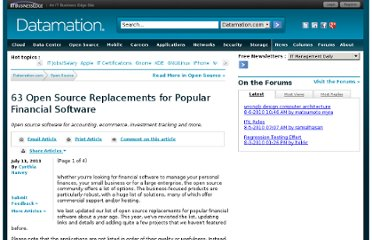 http://www.datamation.com/open-source/63-open-source-replacements-for-popular-financial-software-1.html