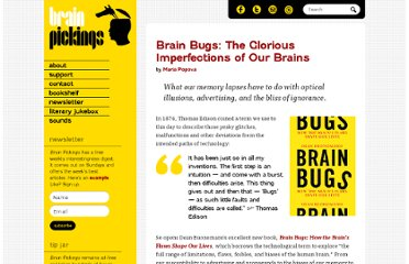 http://www.brainpickings.org/index.php/2011/07/20/brain-bugs-dean-buonomano/
