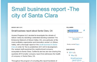 http://santaclarasmallbusiness847.blogspot.com/2011/05/small-business-report-about-santa-clara.html
