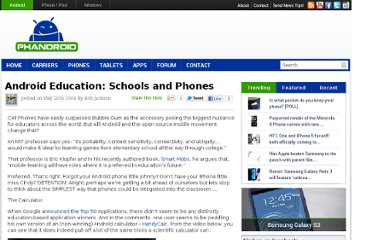 http://phandroid.com/2008/05/20/android-education-schools-and-phones/