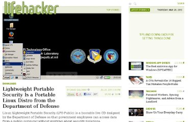 http://lifehacker.com/5824183/lightweight-portable-security-is-a-portable-linux-distro-from-the-department-of-defense
