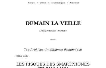 http://www.demainlaveille.fr/tag/intelligence-economique/
