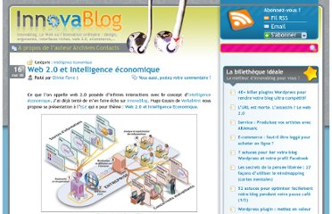 http://innovablog.com/intelligence-economique/web20-intelligence-economique-formation/