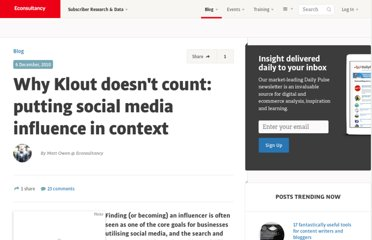 http://econsultancy.com/blog/6933-why-klout-doesn-t-count-putting-social-media-influence-in-context