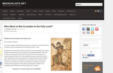 http://www.medievalists.net/2011/07/19/who-went-on-the-crusades-to-the-holy-land/