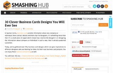 http://smashinghub.com/clever-business-cards.htm