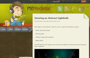 http://www.psdrockstar.com/photo-effects/tutorial-drawing-a-lightbulb/