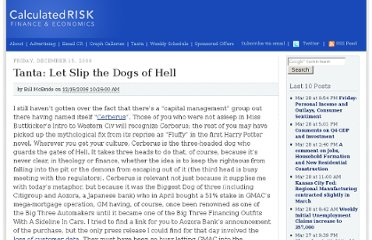 http://www.calculatedriskblog.com/2006/12/tanta-let-slip-dogs-of-hell.html