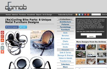 http://dornob.com/recycling-bike-parts-8-unique-metal-furniture-designs/