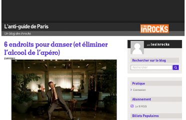 http://blogs.lesinrocks.com/antiguideparis/2011/07/23/6-endroits-pour-danser-et-eliminer-lalcool-de-lapero/