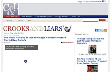 http://crooksandliars.com/karoli/fox-news-refuses-acknowledge-norway-shooter