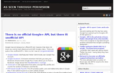 http://www.perivision.net/wordpress/2011/07/there-is-no-official-google-api-but-there-is-unofficial-api/