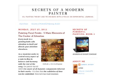 http://secretsofamodernpainter.blogspot.com/2011/07/painting-focal-points-5-main-elements.html