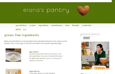 http://www.elanaspantry.com/ingredients/#chocolate