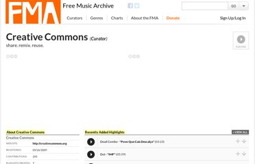 http://freemusicarchive.org/curator/creative_commons