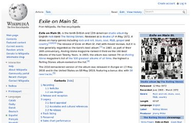http://en.wikipedia.org/wiki/Exile_on_Main_St.