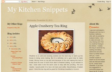 http://www.mykitchensnippets.com/2010/12/apple-cranberry-tea-ring.html