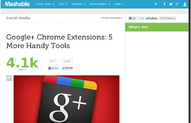 http://mashable.com/2011/07/25/chrome-extensions-google-plus/