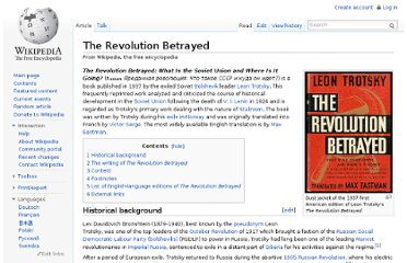http://en.wikipedia.org/wiki/The_Revolution_Betrayed