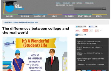 http://www.usatodayeducate.com/staging/index.php/the-differences-between-college-and-the-real-world