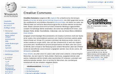 http://de.wikipedia.org/wiki/Creative_Commons