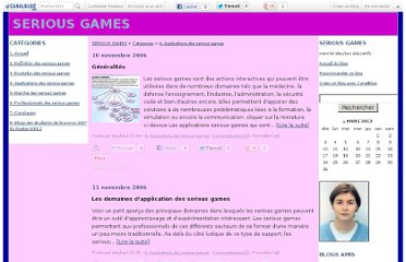 http://seriousgames.canalblog.com/archives/4__applications_des_serious_games/index.html