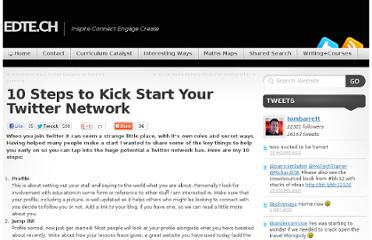 http://edte.ch/blog/2011/07/26/10-steps-to-kick-start-your-twitter-network/