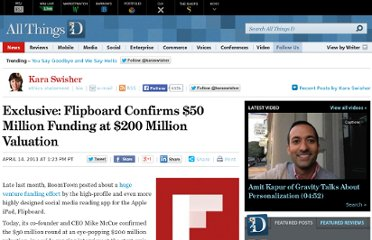 http://allthingsd.com/20110414/exclusive-flipboard-confirms-50-million-funding-at-200-million-valuation/