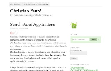 http://www.christian-faure.net/2009/08/01/search-based-applications/