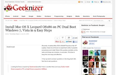 http://geeknizer.com/install-mac-os-x-leopard-osx86-on-pc-dual-boot-windows-7-vista-in-9-easy-steps/