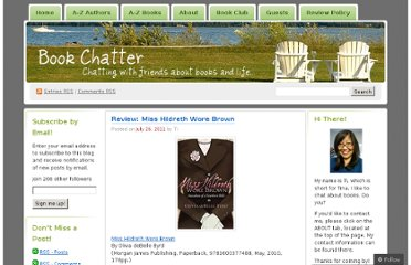 http://bookchatter.net/2011/07/26/review-miss-hildreth-wore-brown/