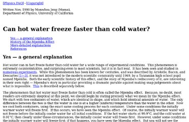 http://www.math.ucr.edu/home/baez/physics/General/hot_water.html