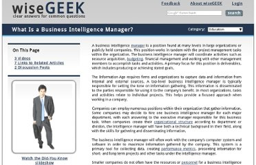 http://www.wisegeek.com/what-is-a-business-intelligence-manager.htm
