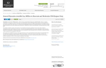 http://www.prnewswire.com/news-releases/general-dynamics-awarded-24-million-to-renovate-and-modernize-uss-harpers-ferry-126129828.html