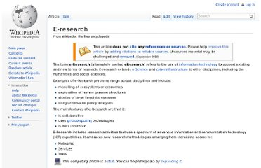 http://en.wikipedia.org/wiki/E-research