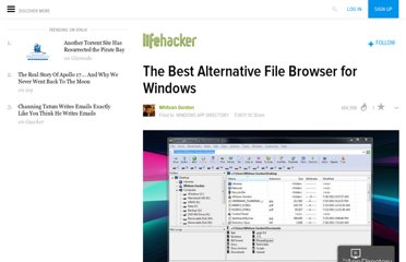 http://lifehacker.com/5824811/the-best-alternative-file-browser-for-windows