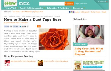 http://www.ehow.com/how_2320198_make-duct-tape-rose.html