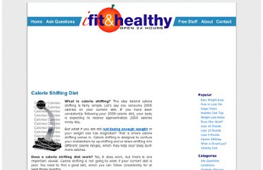 http://ifitandhealthy.com/calorie-shifting-diet/