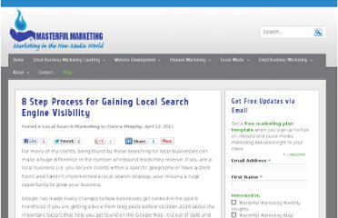 http://masterful-marketing.com/8-step-process-for-gaining-local-search-engine-visibility/
