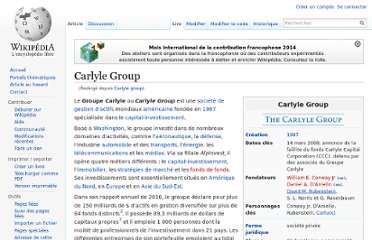 http://fr.wikipedia.org/wiki/Carlyle_group