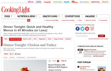 http://www.cookinglight.com/food/everyday-menus/quick-easy-chicken-recipes-00400000057014/