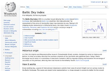 http://en.wikipedia.org/wiki/Baltic_Dry_Index
