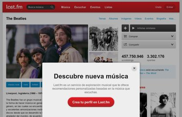 http://www.lastfm.es/music/The+Beatles