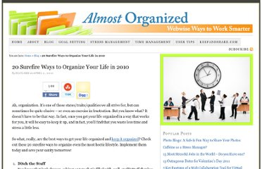 http://www.keepandshare.com/blog/2010/04/02/20-surefire-ways-to-organize-your-life-in-2010/