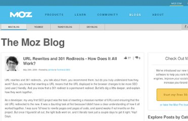 http://www.seomoz.org/blog/url-rewrites-and-301-redirects-how-does-it-all-work