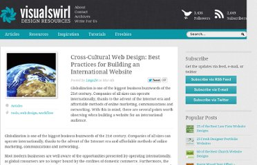 http://www.visualswirl.com/articles/crosscultural-web-design-practices-building-international-website/