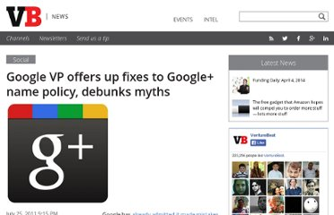http://venturebeat.com/2011/07/25/google-plus-name-policy-fix/