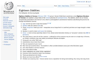 http://en.wikipedia.org/wiki/Eighteen_Oddities