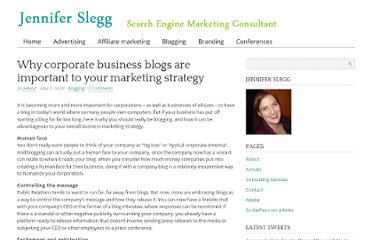 http://www.jenniferslegg.com/2008/05/05/why-corporate-business-blogs-are-important-to-your-marketing-strategy/